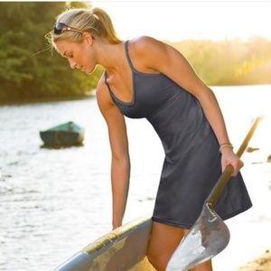 """Athleta """"shorebreak"""" swim dress"""
